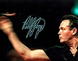 Bobby George, Darts, Genuine Signed Autograph (01)